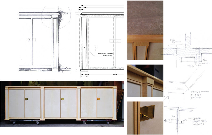 Parchment Sideboard